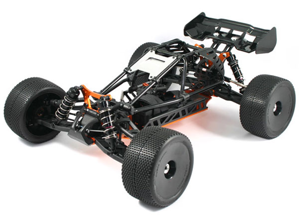 HoBao Hyper Cage Truggy Electric Rolling Chassis HBCTEB