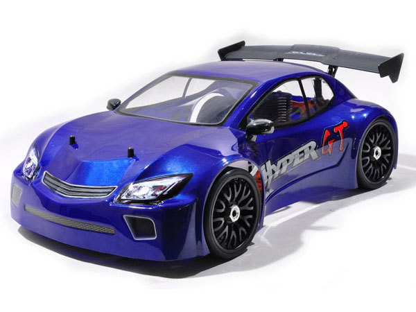 HoBao Hyper GT 1/8th Scale .28 Nitro RTR Rally Car - Blue HBGTS-S28B