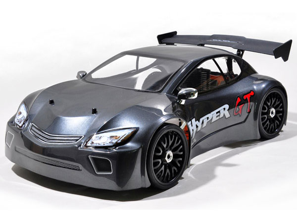 HoBao Hyper GT 1/8th Scale .28 Nitro RTR Rally Car - Grey HBGTS-C28DG