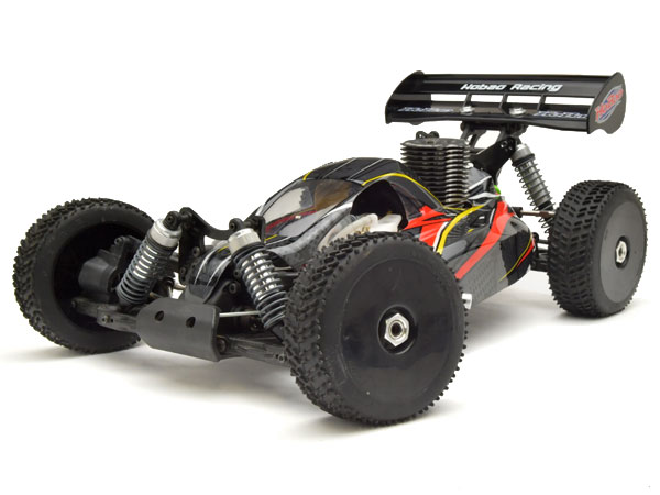 HoBao Hyper 7 TQ2 RTR Buggy with Hyper .21 Turbo Engine 2.4GHz Radio- Black (Pre-Owned) HBM7-TQC21DG-U2