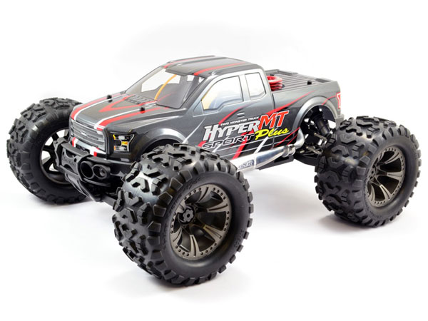 HoBao Hyper MT Sport Plus Nitro Monster Truck RTR - Grey HBMT-S30DG