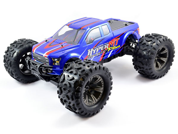 HoBao Hyper MT Sport Plus Electric Monster Truck RTR - Blue HBMTE-S150BU