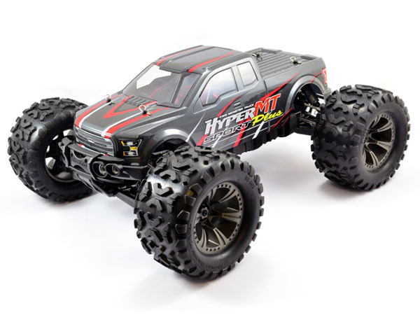 HoBao Hyper MT Sport Plus Electric Monster Truck RTR - Grey HBMTE-S150DG