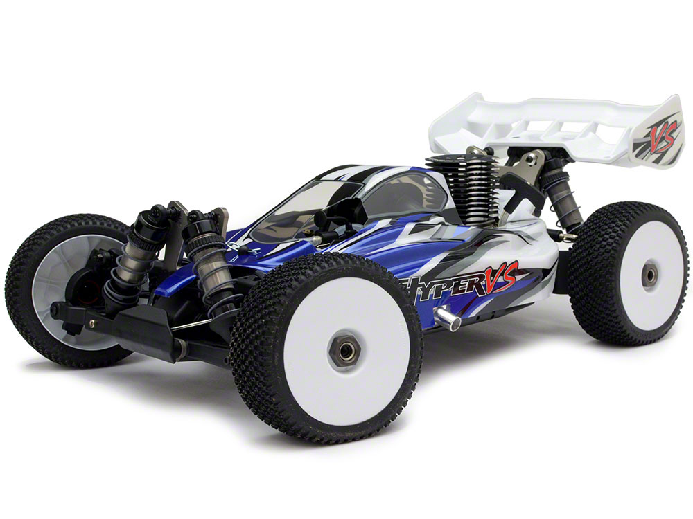 HoBao Hyper VS 1/8 RTR Buggy .21 3-Port - Blue HBVS-C21B