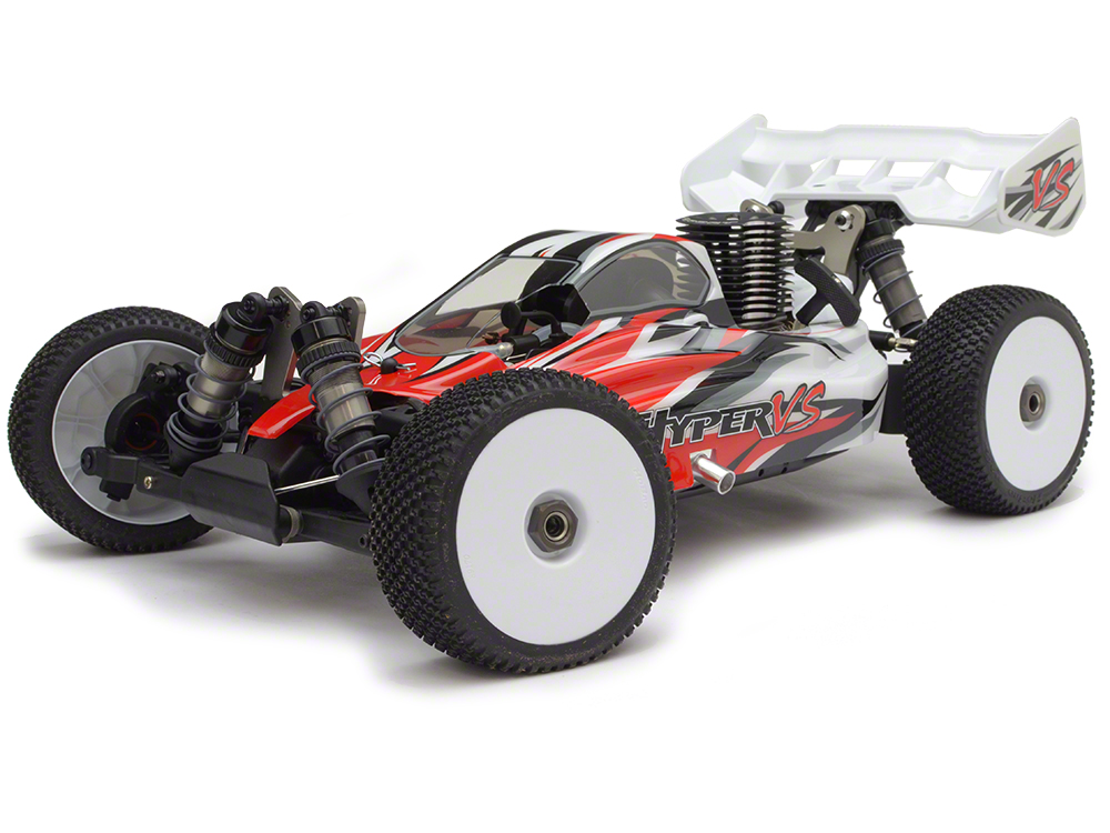 HoBao Hyper VS 1/8 RTR Buggy .21 3-Port - Red HBVS-C21R