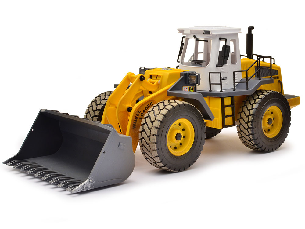 Hobby Engine 1 14 Construction Site Wheeled Loader He0806