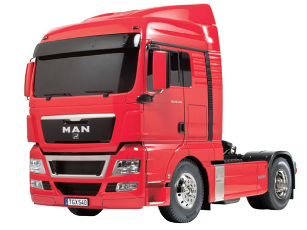 Tamiya MAN TGX 18.540 4x2 XLX - Red Edition 56332