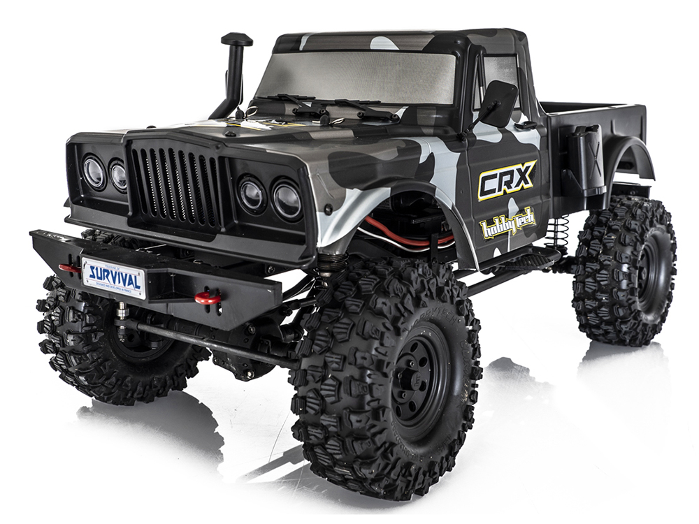 HobbyTech CRX Survival RTR - 1/10th 4WD RTR Scale Crawler Truck HT-1-CRX-RTR