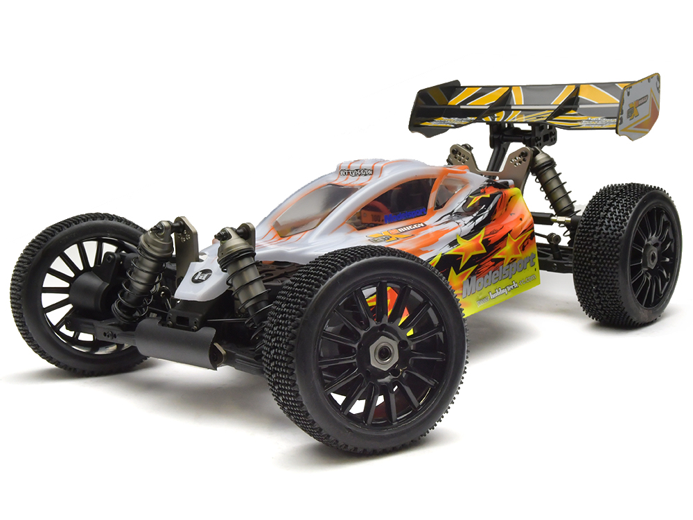 HobbyTech EPX2 1/8th 4WD RTR Electric Buggy (Yellow) HT-1-EPX2-BU-RTR1