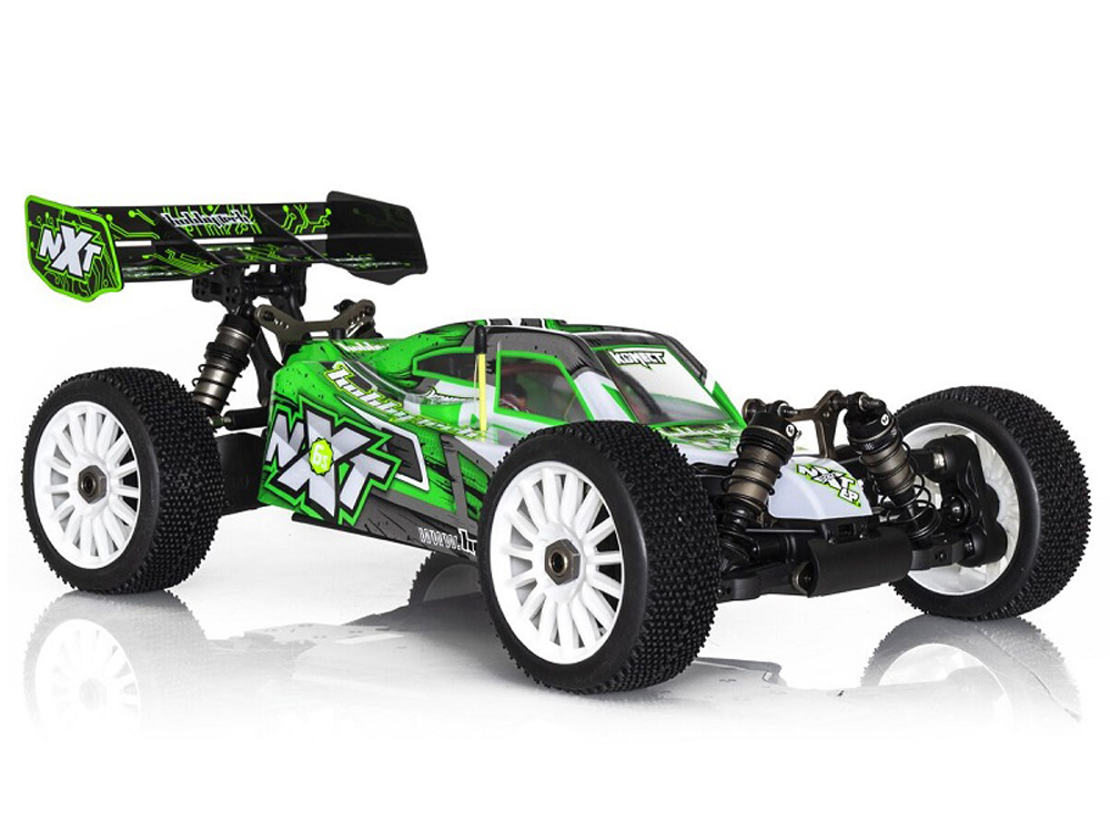 HobbyTech Spirit NXT EP 1/8th 4WD RTR Competition Brushless Buggy (Green) HT-1-SPIRIT-NXT-EP-2.0