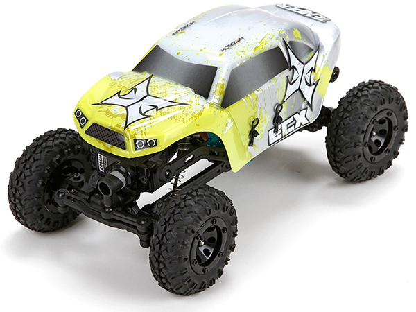 ECX Temper 1:24 Rock Crawler: Yellow/White RTR ECX00012T2