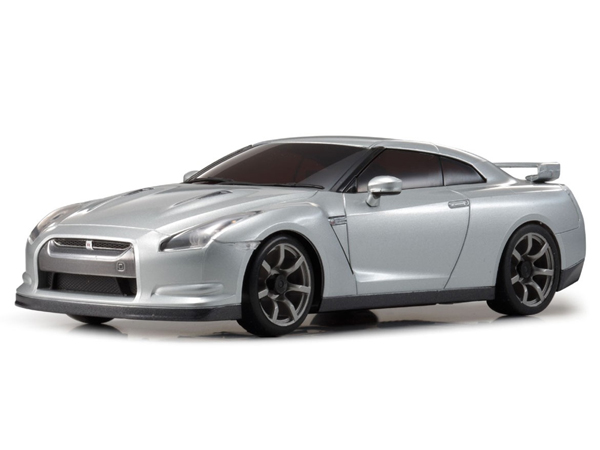 Kyosho Mini-Z RWD Nissan GTR R35 Ultimate Metal Silver (N-RM/KT531P) 32331S