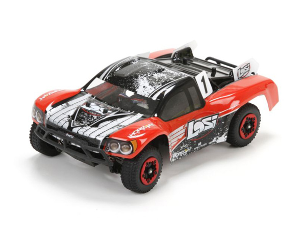 Losi Micro SCTE Brushless 4WD RTR (Red) LOS00001ICT1