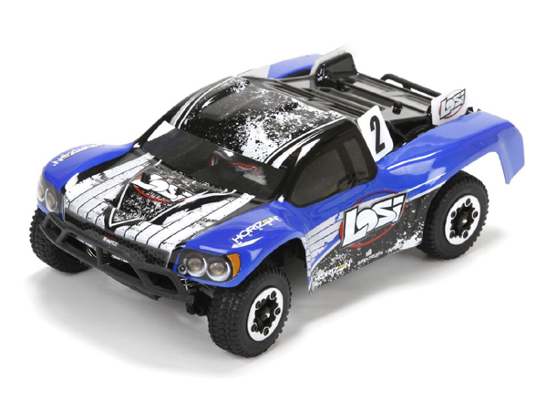 Losi Micro SCTE Brushless 4WD RTR (Blue) LOS00001ICT2