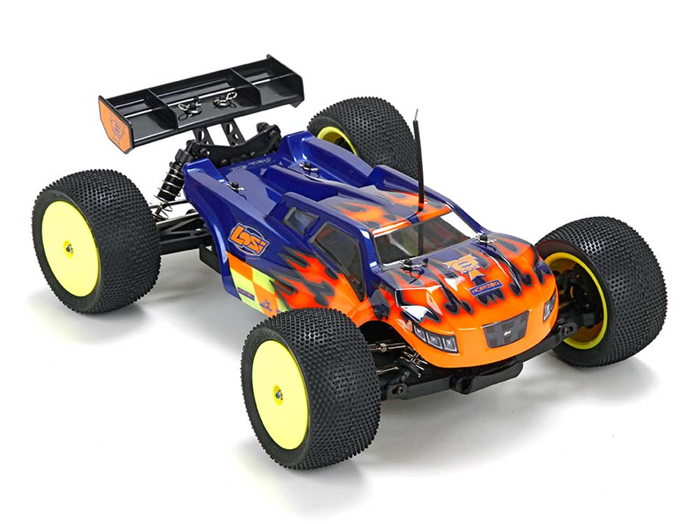 Losi Mini 8IGHT-T RTR Phend Edition:1/14 4WD Truggy LOS01011I