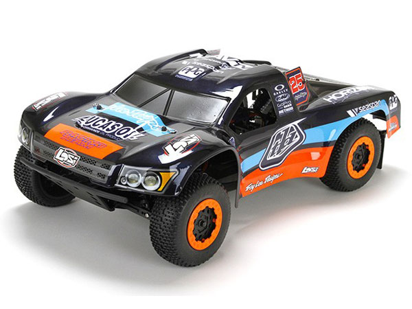 Losi TEN-SCTE Troy Lee Designs RTR Brushless w/AVC Battery/Charger LOS03005C