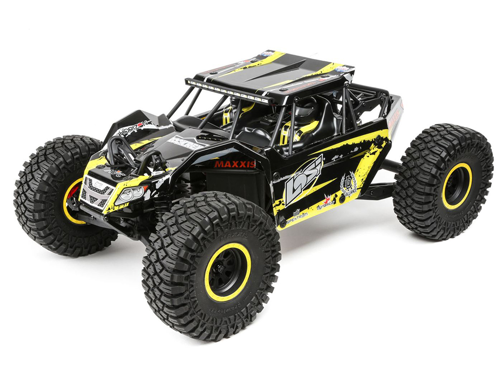 Losi Rock Rey RTR  - Yellow LOS03009T1