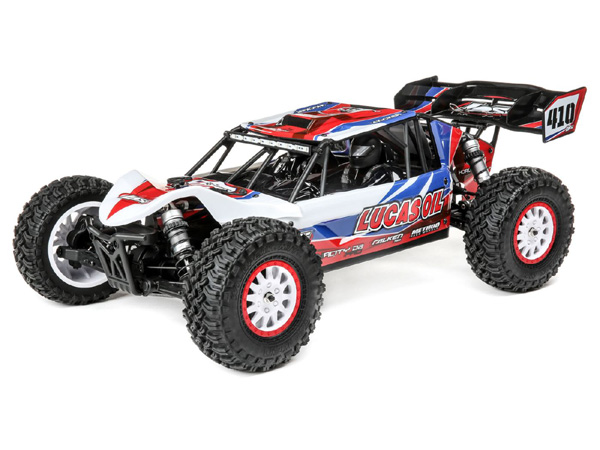 Losi 1/10 Tenacity DB Pro 4WD Desert Buggy Brushless RTR with Smart - Lucas Oil LOS03027T1