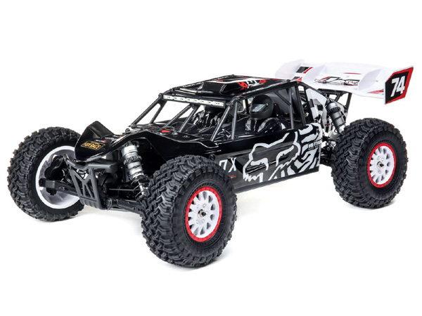 Losi 1/10 Tenacity DB Pro 4WD Desert Buggy Brushless RTR with Smart - Fox Racing LOS03027T2