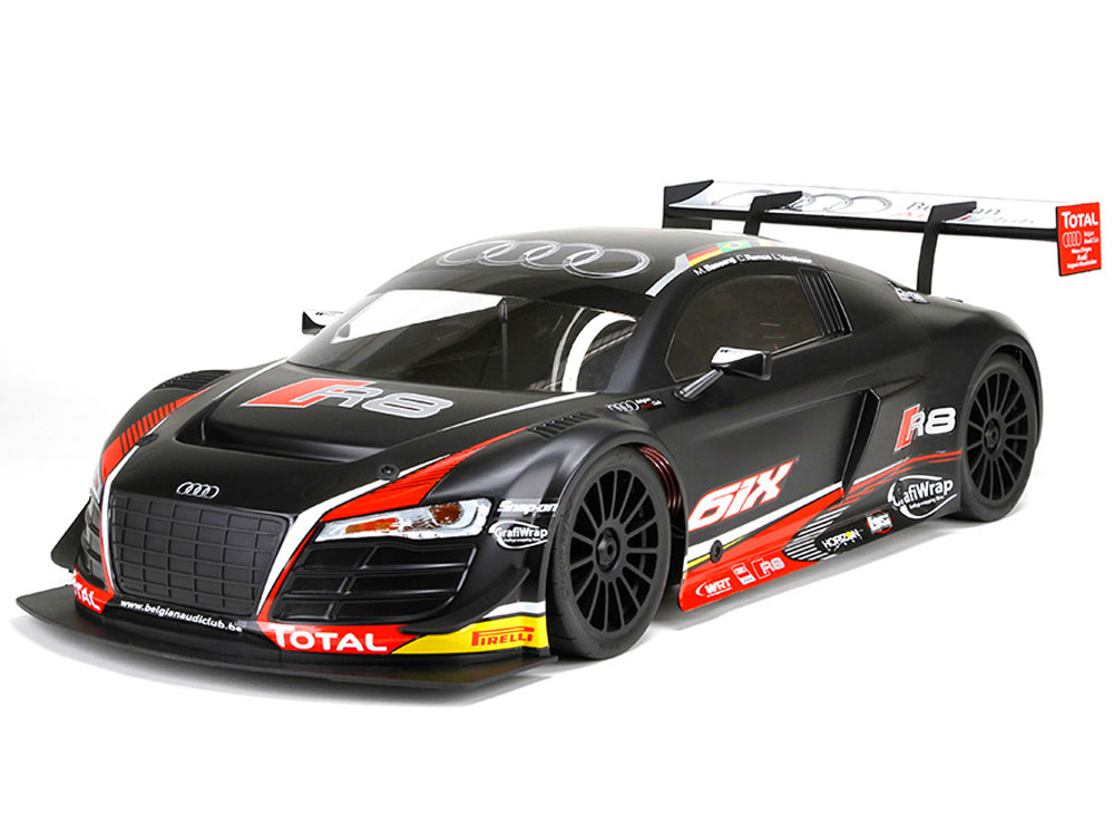 losi 6ix audi r8 lms ultra fia gt3 rtr los05003i. Black Bedroom Furniture Sets. Home Design Ideas