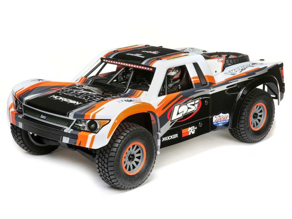 Losi 1/6 Super Baja Rey 4WD Desert Truck BND with AVC LOS05018
