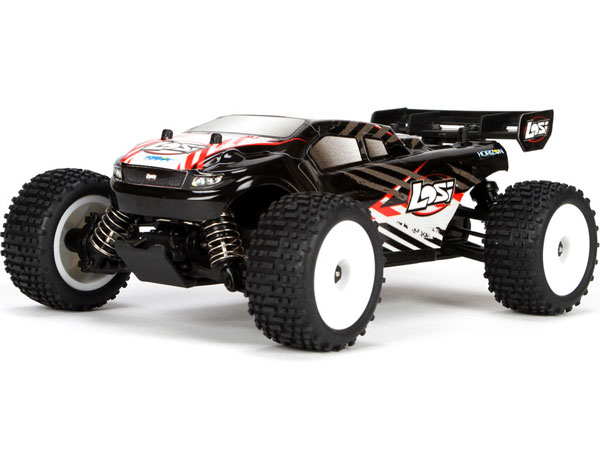 Losi 1/24 4WD Micro Truggy RTR (Black) LOSB0244IT1