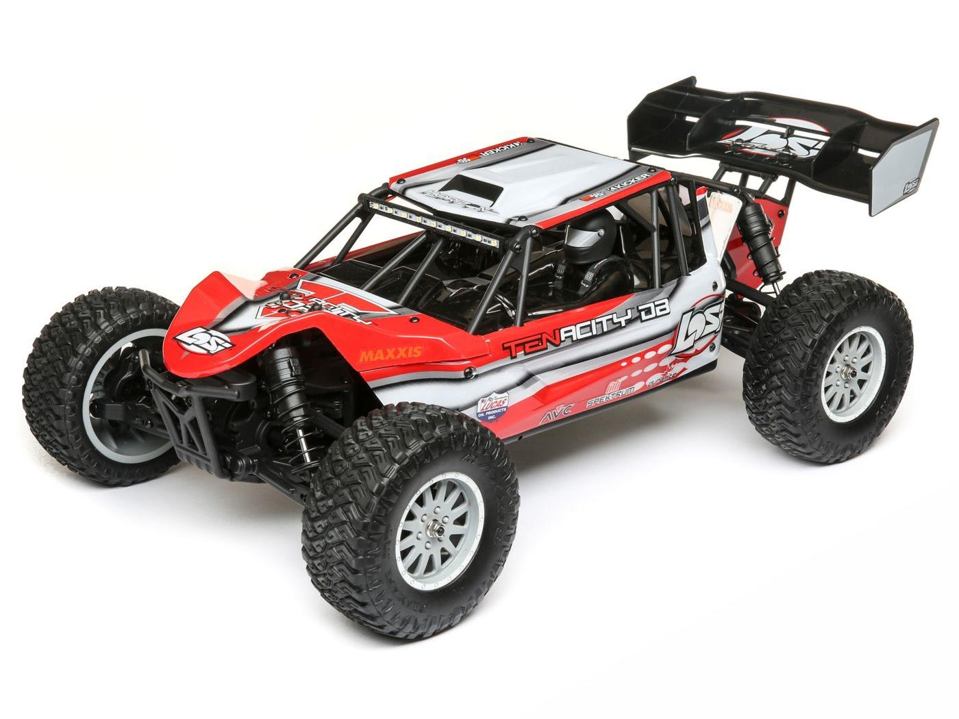 Losi TENACITY DB RTR - Red/ Grey LOS03014T1