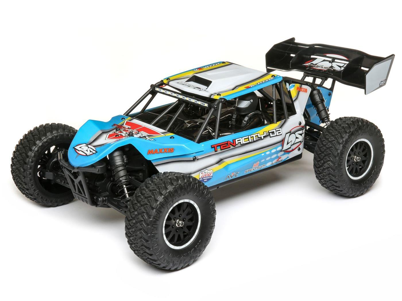 Losi TENACITY DB RTR - Blue/ Yellow LOS03014T2