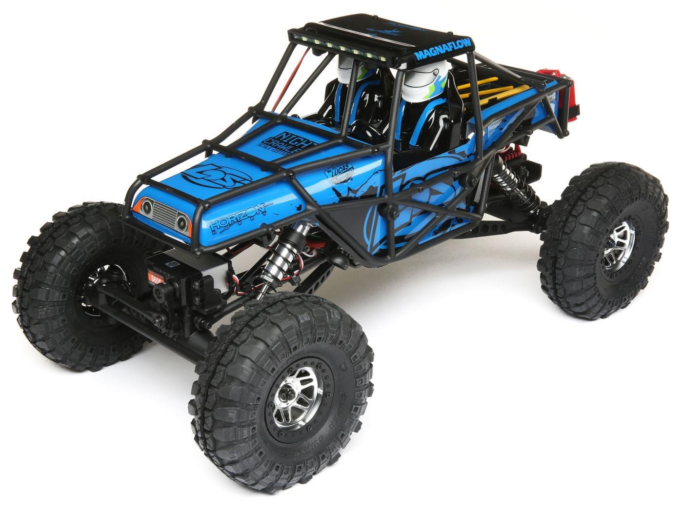 Losi Night Crawler SE RTR - Blue LOS03015T1