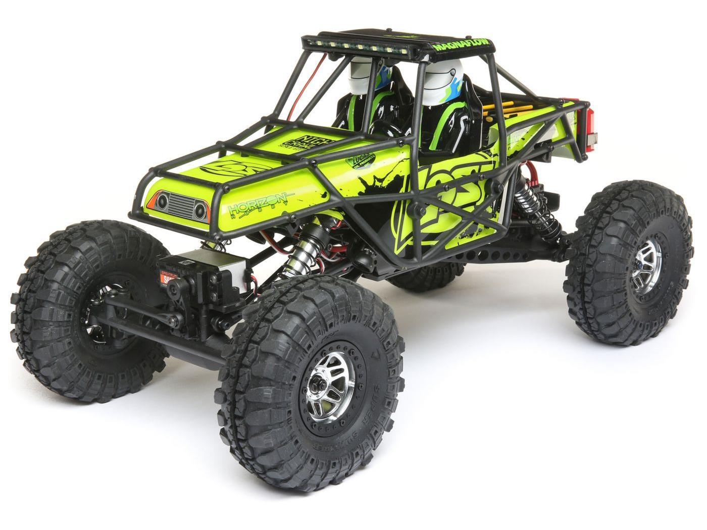 Losi Night Crawler SE RTR - Yellow LOS03015T2