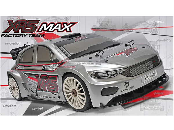 MCD Racing XR5 Max Pro 1/4 Scale Rally Car. Rolling Chassis M00525001