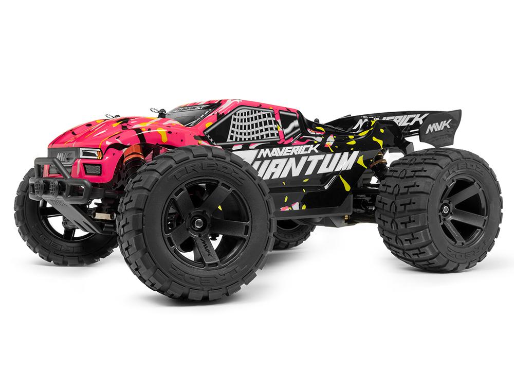 Maverick Quantum Xt 1 10 4wd Stadium Truck Pink Mv150106