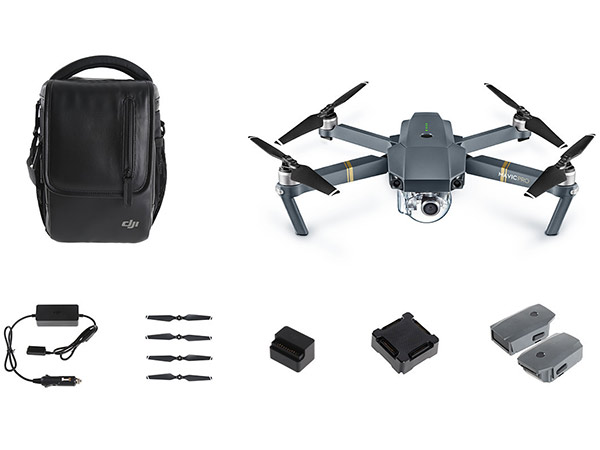DJI Mavic Pro Fly More Combo Quadcopter Drone DJIMP-C