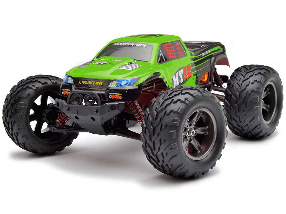 Funtek MT12 Neo Monster Truck RTR - Green FTK-MT12-NEO-GR