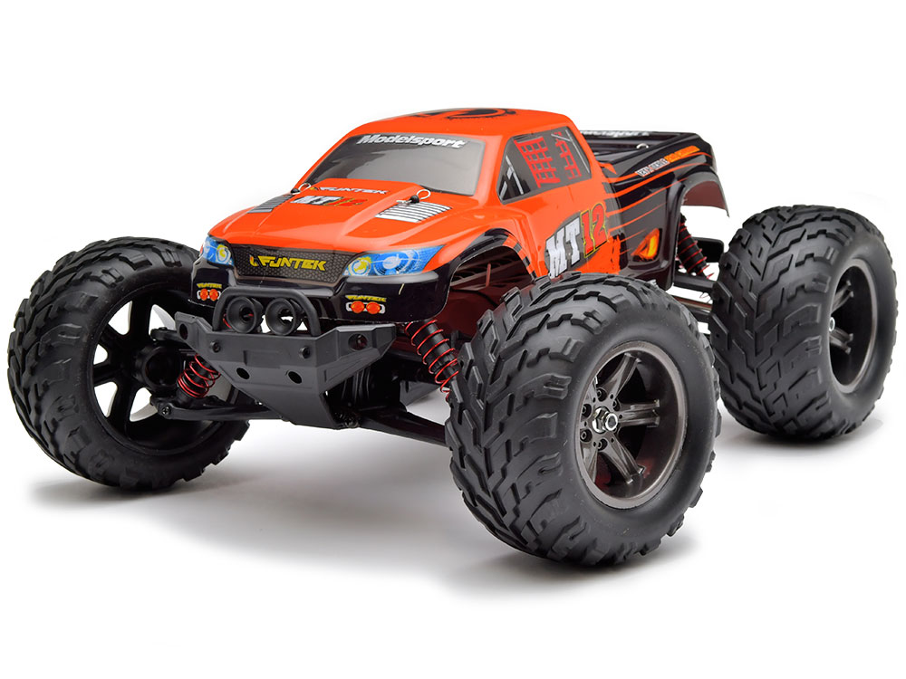 Funtek MT12 Neo Monster Truck RTR - Orange FTK-MT12-NEO-OR