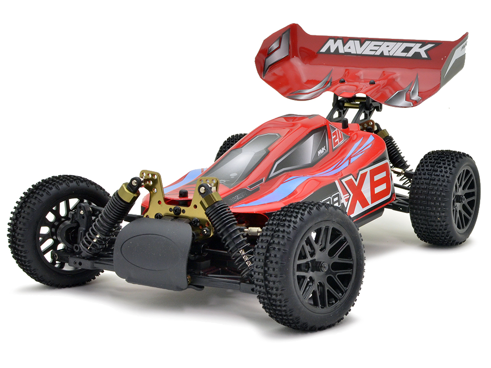Maverick Strada XB Brushless RTR Buggy - Red MV12621