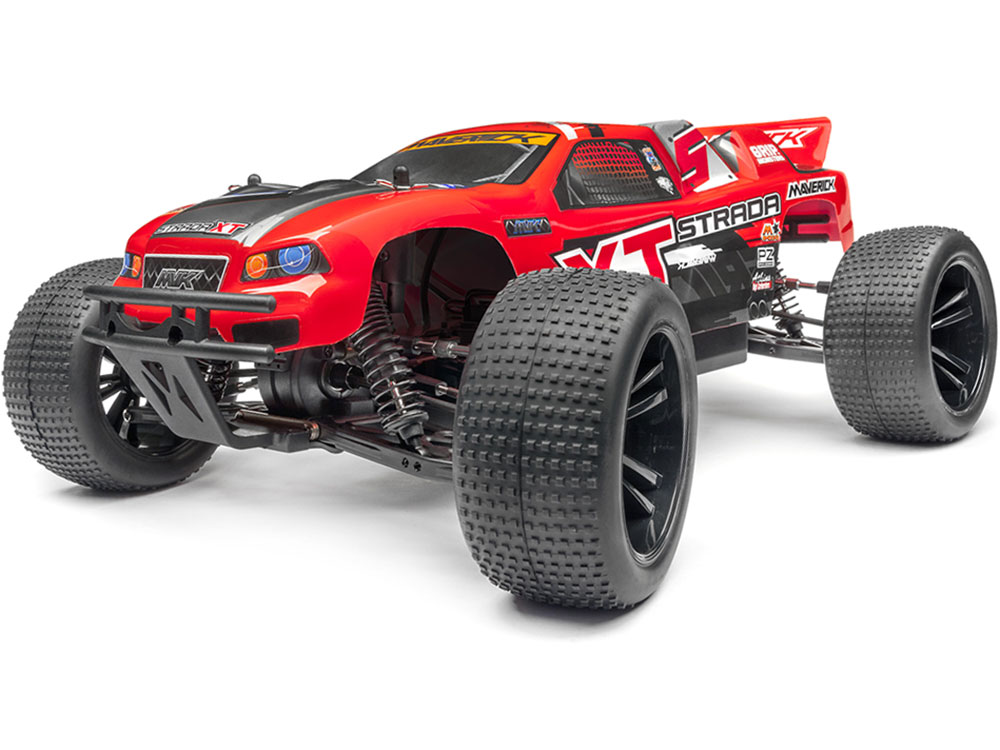 Maverick Strada XT Brushless RTR Truggy - Red MV12622