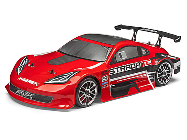 Maverick Strada TC Brushless 1/10 RTR Electric Touring Car - Red MV12624