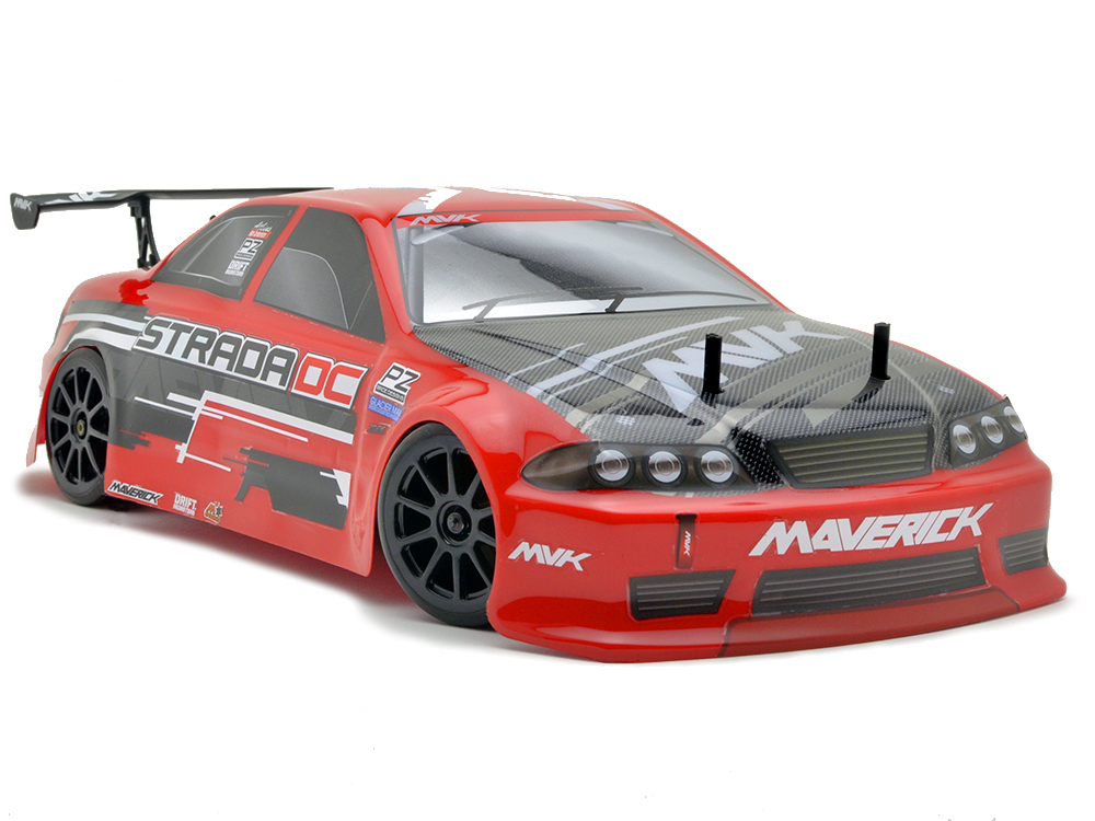 Maverick Strada DC 1/10 Brushless RTR Electric Drift Car - Red MV12626