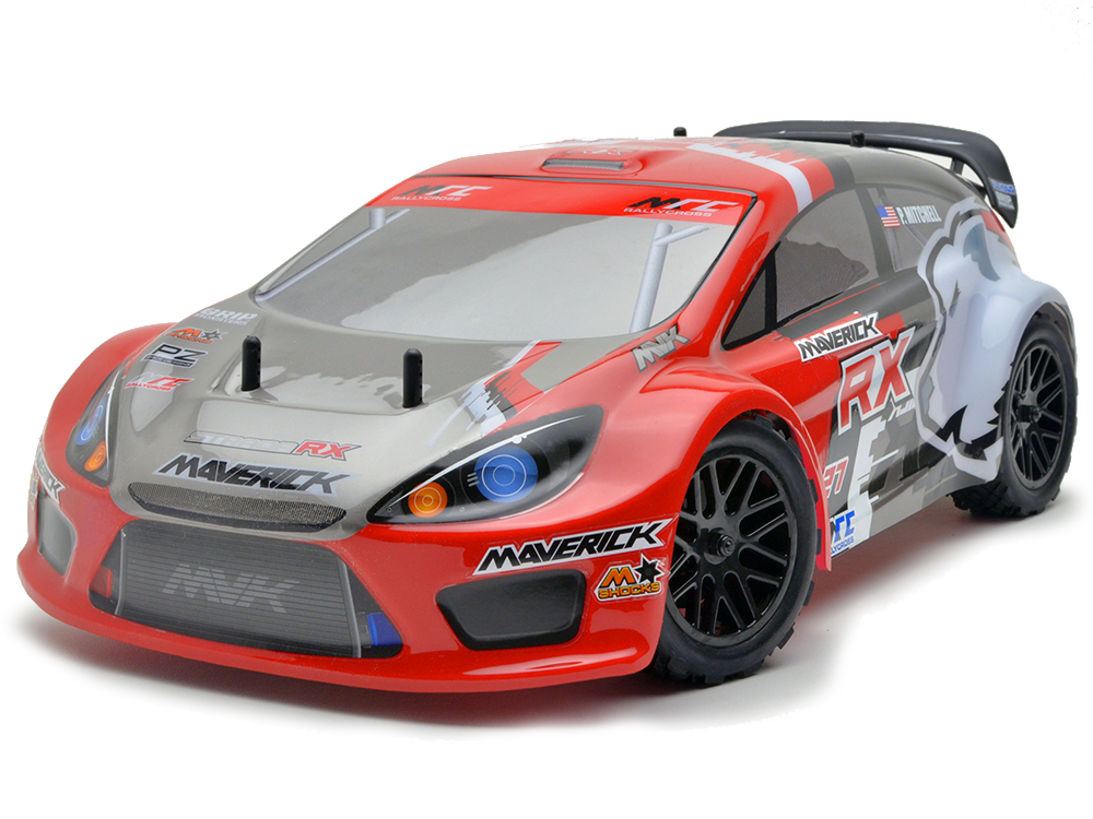 Maverick Strada RX 1/10 Brushless RTR Electric Rally Car - Red MV12627