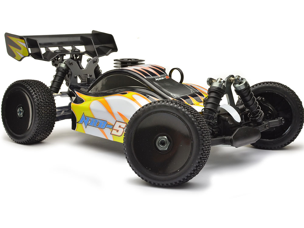 Nanda Racing NRB-5 Buggy RTR 1/8th Yellow PBK1001Y
