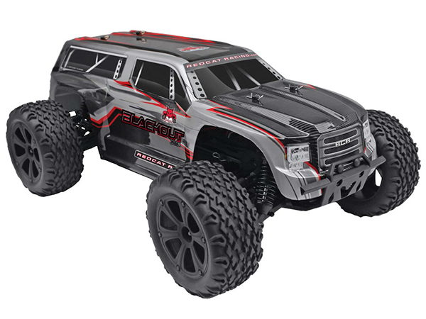 Redcat Racing 1/10 SUV Blackout XTE 4WD RTR - Grey RC00021