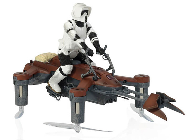 Propel RC Star Wars Collectors Edition Speeder Bike Battling Quad SW-1983-CX