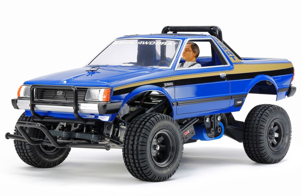 Tamiya Subaru Brat Blue Limited Edition 47413