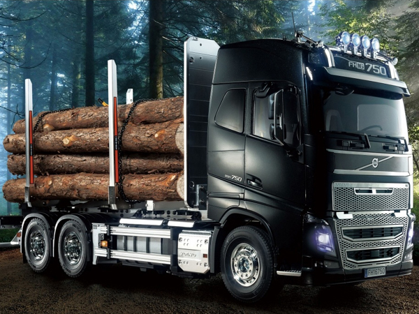 Tamiya Volvo FH16 Globetrotter 750 6x4 Timber Truck 56360