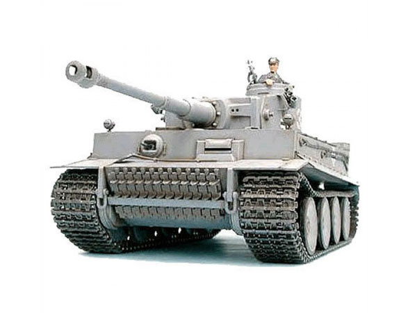 Tamiya German Tiger 1 with Option Kit 56010