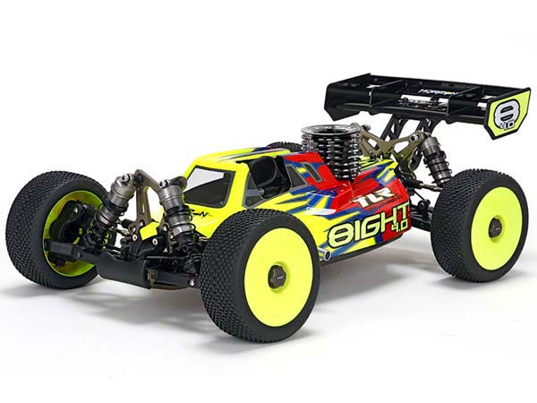 Team Losi Racing 8IGHT 4.0 Race Kit: 1/8 4WD Nitro Buggy TLR04003