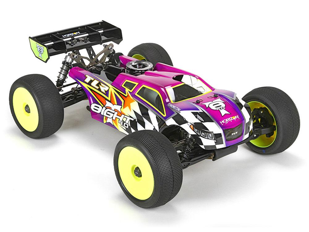 Team Losi Racing 8ight T 4 0 Race Kit 1 8 4wd Nitro Truggy