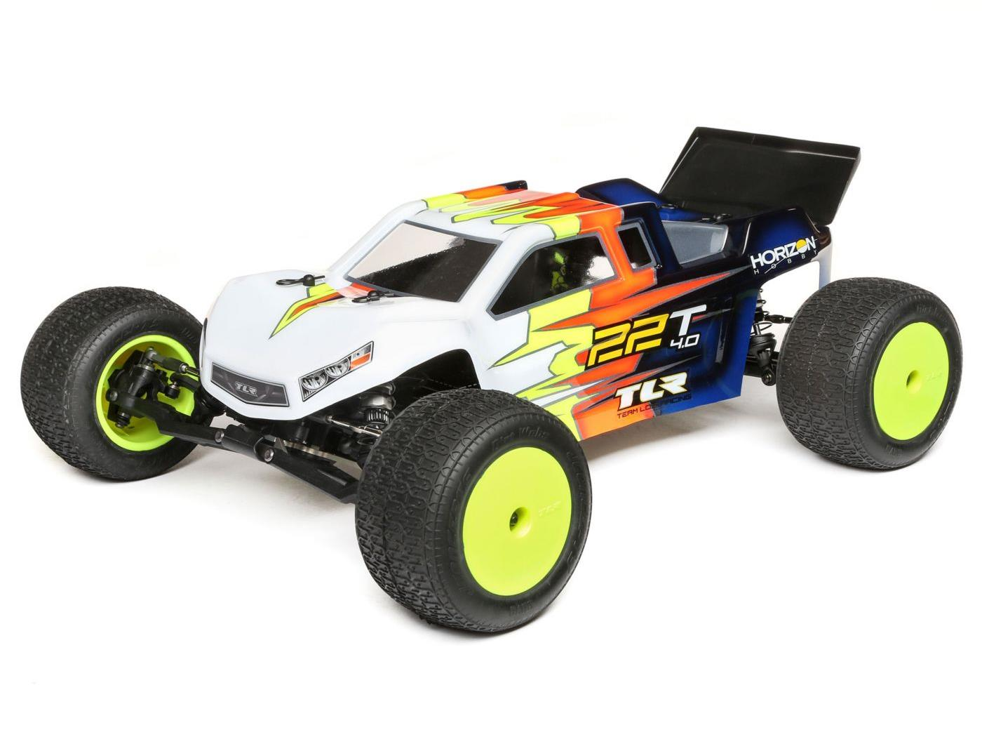 Team Losi Racing 22T 4.0 Race Kit: 1/10 2WD Stadium Truck TLR03015