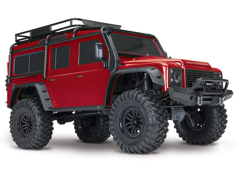 Traxxas TRX-4 Land Rover Defender 110 - Red 82056-4RD